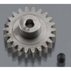 22T 32P (Mod 0.8) Super Hard Absolute Steel Pinion Gear 1/8 Bore