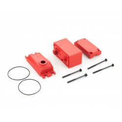 ADS V2 Plastic Gear Servo Case Red