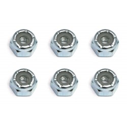 Steel Locking Nut 8-32 (6)