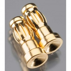 Gold Plated Bullet Connector Male 3.5mm (2)