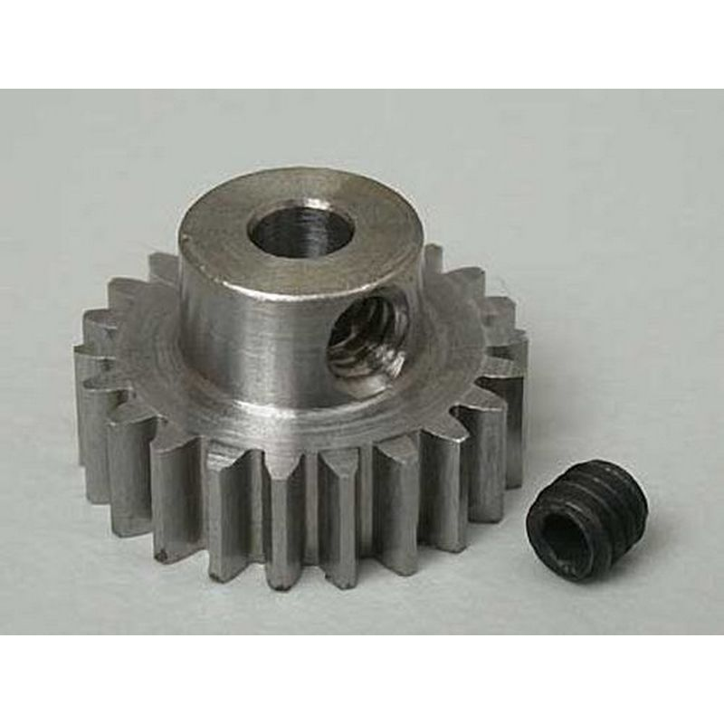 22T Mod 0.6 Steel Pinion Gear 1/8 Bore