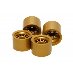 RC F104 Wheel Set - Gold