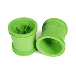 Axial 2.2 Monster Truck Wheels 63mm Green (2)