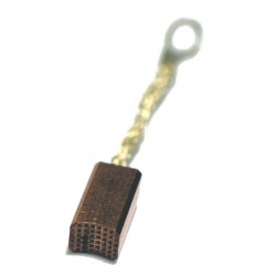 laydown serrated brush w/eyelet and green springs