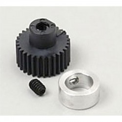 34T 64P Light Carbon Fiber Pinion Gear 1/8 Bore