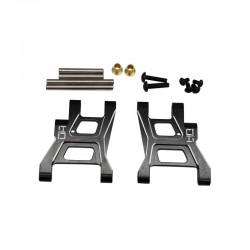Hot Racing Aluminum Rear Lower Suspension Arms G6 GF01 WR02 TL01 [TKH5601]