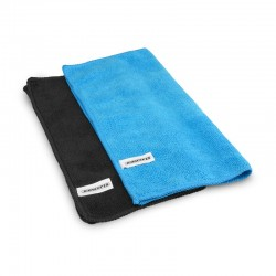 Microfiber Towel Blue/Black (2)