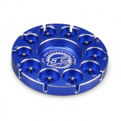 Jconcepts Aluminum Pinion Puck Stock Range 27-36t 48-P (Blue)