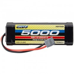 NiMH 6 Cell 7.2V 5000mAh Stick Pack Battery Deans