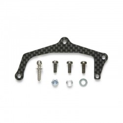 Carbon Rear Body Mount Plate Rm01