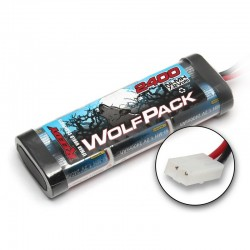 Reedy Wolfpack NiMH 6 Cell 7.2V 2400mAh Stick Pack Battery Tamiya Plug