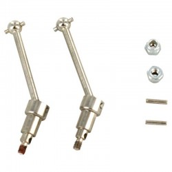Front Universal Shafts w/ Pins and Nuts