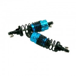 Aluminum shocks (2 pieces)(blue)