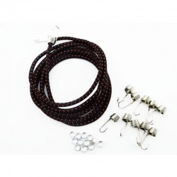 1/10 Scale Bungee Cord Kit - Black Red