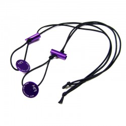 1/8 Scale Elastic Tire Holder (Purple)