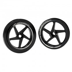 Black Galaxy 5w Wheels Set (2)
