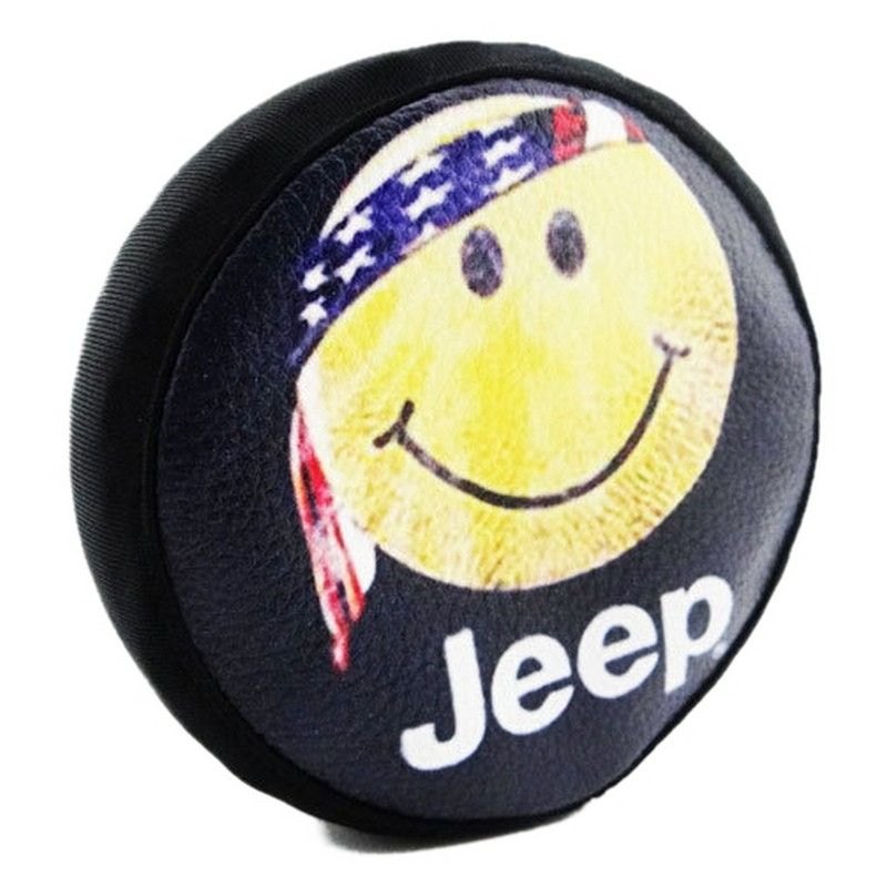 1/10 Scale Happy Face Spare Tires Cover - Scx10 (toy)