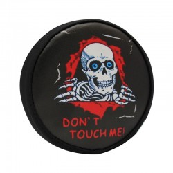 5 Inch Skull Don't Touch Me Spare Tire Cover