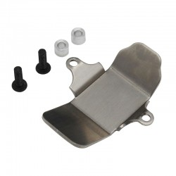 Stainless armor skid plate (1) SCX 2