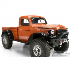 1946 Dodge Power Wagon Clear Body for 12.3