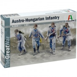 1/35 WWI Austro-Hungarian Infantry