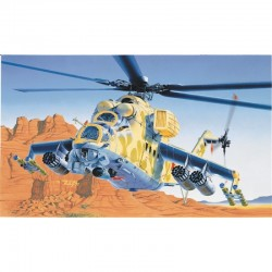 1/72 MIL-24 Hind D/E Military Helicopter