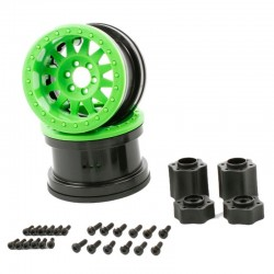 2.2 Method Beadlock Wheels - IFD Wheels - Green (2)