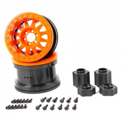 2.2 Method Beadlock Wheels - IFD Wheels - Orange (2pcs)