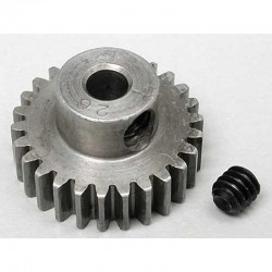 26T 48P Absolute Hardened Steel Pinion Gear 1/8 Bore