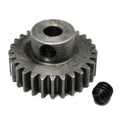 28T 48P Absolute Hardened Steel Pinion Gear 1/8 Bore