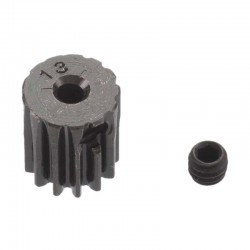 13T Mod 0.5 Hardened Steel Pinion Gear 2mm Bore