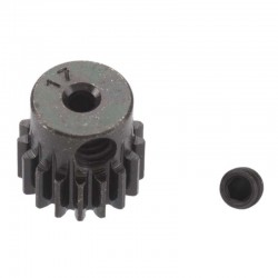 17T Mod 0.5 Hardened Steel Pinion Gear 2mm Bore