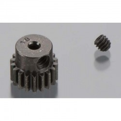 18T Mod 0.5 Hardened Steel Pinion Gear 2mm Bore