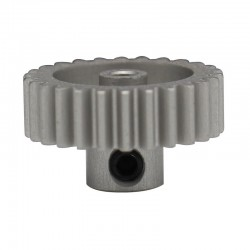 Hard Anodized Aluminum Pinion Gear for T3-01