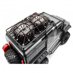 rc 1/10 scale cargo net Red