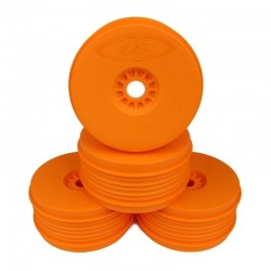 Speedline Plus Wheels for 1/8 Buggy / Orange