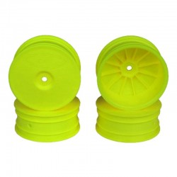Speedline Buggy Wheels for B64/B64d/Tlr 22 3/4 Front Yellow 4 Pi
