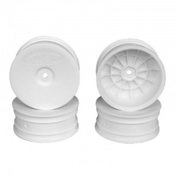 Speedline Buggy Wheels for B6 / Rb6 / Front White 4 Pieces