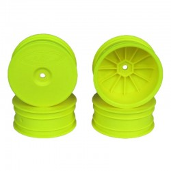 Speedline Buggy Wheels for 22-4/EB410 /Front Yellow 4 Pieces