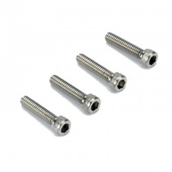 8-32x3/4in Stainless Steel SHCS Socket Head Cap Screws (4)