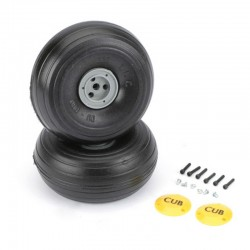 1/5 light weight J-3 Cub Wheels (2)
