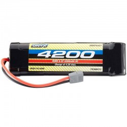 NiMH 7 Cell 8.4V 4200mAh Stick Pack Battery Deans