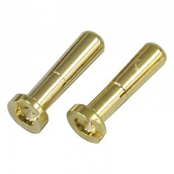 4mm Gold Connector Low profile 2