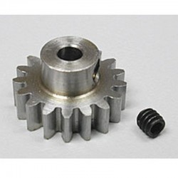 17T 32P (Mod 0.8) Steel Pinion Gear 1/8 Bore