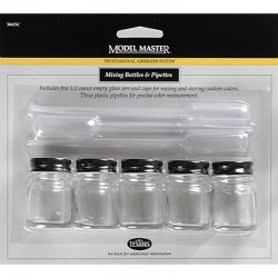 Model Master Mix Bottle & Pipette Set