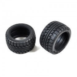 Tamiya RC Tire: DT-02 Street Rover - 2 pieces [9804577]