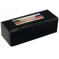 LiPo 2S 7.4V 4000mAh 25C Hard Case Battery Deans