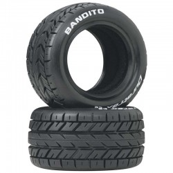 Bandito 1/10 Buggy Tires Rear 4WD C2 pair