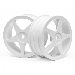 Ultra 5 Wheel White 2.2 inch x26mm (2)