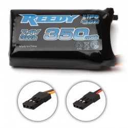 LiPo 2S 7.4V 350mAh RX Battery